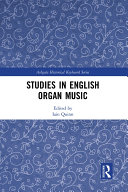 Studies in English Organ Music