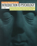 HarperCollins College Outline Introduction to Psychology