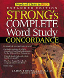 Strong s Complete Word Study Concordance Book
