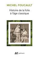 Histoire de la folie à l'âge classique Pdf/ePub eBook