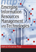 Pdf Emerging Information Resources Management and Technologies