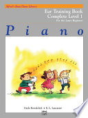 Alfred s Basic Piano Library   Ear Training Book  Complete Level 1  1A 1B