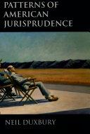 Patterns of American Jurisprudence Pdf/ePub eBook