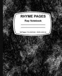 Rhyme Pages Rap Notebook