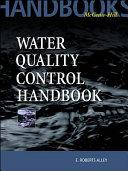 Water Quality Control Handbook Book