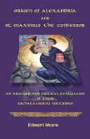 Origen of Alexandria and St. Maximus the Confessor Pdf