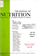 The Journal of Nutrition