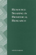 Resource Sharing in Biomedical Research
