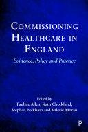 Commissioning Healthcare in England Pdf/ePub eBook