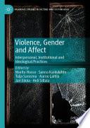 Violence Gender And Affect
