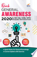Quick General Awareness 2020 for SSC CGL/ CHSL/ MTS/ Stenographer/ Sub-Inspector Exams