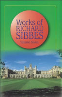 Works Of Richard Sibbes Miscellaneous Sermons Indices
