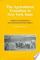 Agricultural Transition In New York State