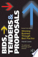 Bids  Tenders   Proposals Book