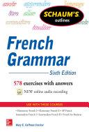 Schaum's Outline of French Grammar