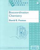 Biocoordination Chemistry