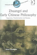 Zhuangzi and Early Chinese Philosophy  Vagueness  Transformation  and Paradox