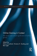 Online Gaming in Context