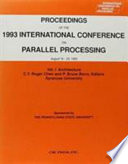 Proceedings Of The 1993 International Conference On Parallel Processing