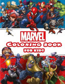 Marvel Coloring Book For Kids Ages 4 8