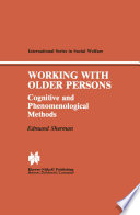 Working With Older Persons Book PDF