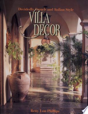 Read Book Villa Decor Free PDF - Read Full Book