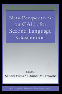 Pdf New Perspectives on CALL for Second Language Classrooms