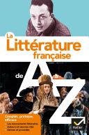 Pdf La littérature de A à Z (nouvelle édition) Telecharger