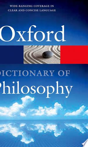 The+Oxford+Dictionary+of+Philosophy