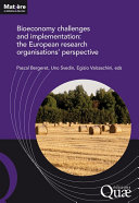 Bioeconomy challenges and implementation: the European research organisations' perspective