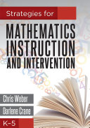 Strategies for Mathematics Instruction and Intervention  K 5