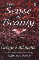 Pdf The Sense of Beauty Telecharger