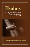 Psalms In A Translation For Praying Book PDF