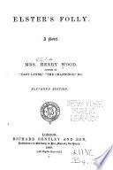 Elster s Folly Book PDF