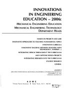 Innovations in Engineering Education Book