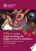 Fifteen Years Implementing The Right To Food Guidelines