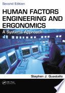 Human Factors Engineering and Ergonomics