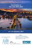 Proceedings of The 11th MAC 2017
