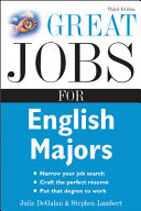 Great Jobs for English Majors