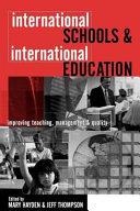 International Schools & International Education