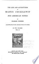 The life and adventures of Martin Chuzzlewit  and American notes Book PDF