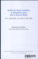 Gestion du risque inondation et changement social dans le delta du Rhône