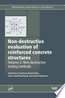 Non-Destructive Evaluation of Reinforced Concrete Structures