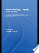 Pharmacology  Doping And Sports