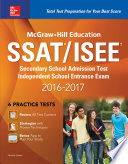 McGraw Hill Education SSAT ISEE 2016 2017 Book
