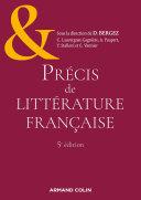 Pdf Précis de littérature française - 5e éd. Telecharger