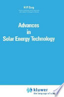 Advances In Solar Energy Technology Book PDF