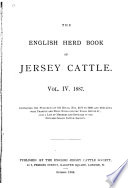 The English Jersey Cattle Society s Herd Book