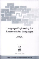 Language Engineering for Lesser-studied Languages