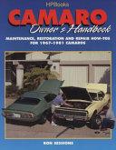 Camaro Owner's Handbook